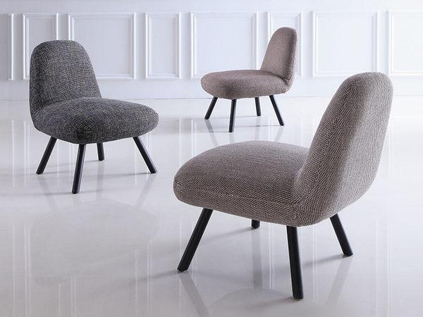 【森可家居】低調品味鐵灰紋休閒椅 7JX157-4 單人 布套可拆洗