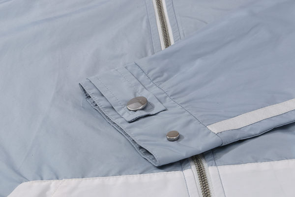DEBRAND 水墨暈染拼接夾克-藍