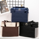 保溫袋 飯盒袋午餐便當包保溫袋包帆布手拎媽咪包帶飯的手提袋鋁箔加厚