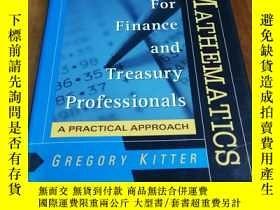 二手書博民逛書店Investment罕見Mathematics for Fina