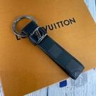 BRAND楓月 LOUIS VUITTON LV M62706 黑色棋盤格 鑰匙圈 吊飾 皮飾 配件 隨身攜帶