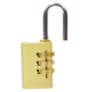 【GI232】銅密碼鎖30mm 3碼(台灣製) 可自設密碼 數碼設定鎖 行李箱對號鎖 鋅合金密碼鎖 EZGO商城