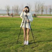 締杰單反三腳架相機微單便攜專業三角架攝影手機直播支架攝像NMS 小明同學