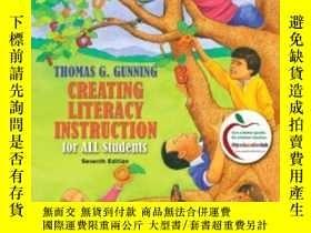 二手書博民逛書店Creating罕見Literacy Instruction F