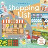 Pop Out&Play:Shopping List 購物遊戲拼圖書