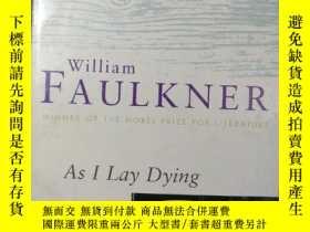 二手書博民逛書店As罕見I Lay Dying 在我彌留之際 威廉福克納經典作品