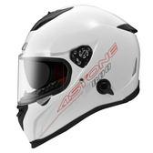 【東門城】ASTONE GTB800 素色(白) 全罩式安全帽 雙鏡片