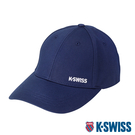 K-SWISS KS Cotton Cap運動棒球帽-藍
