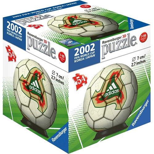 德國Ravensburger維寶拼圖 2002世界盃指定球3D拼圖(54P)_ RV99273