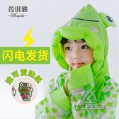 卡通兒童雨衣男童女幼兒園小孩子小學生防水雨披帶書包位充氣帽檐