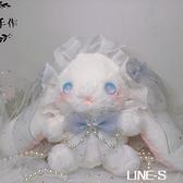 星光系列兔熊包可愛軟妹包洋斜背包/側背包小兔子星星