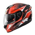 【東門城】ZEUS ZS1600 AK6 (碳纖原色/紅) 全罩式安全帽