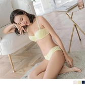 《VA547》甜美蕾絲半罩U型鋼圈成套內衣+內褲(34-40 OrangeBear