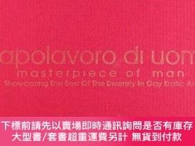 二手書博民逛書店Capolavoro罕見Di Uomo: Masterpiece of Man - Best of Gay Ero