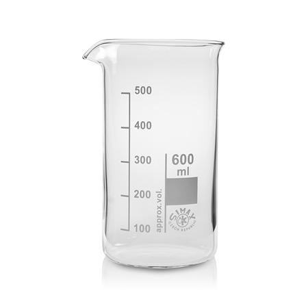 《SIMAX》高型燒杯 具嘴 Beaker, Griffin, Tall Form