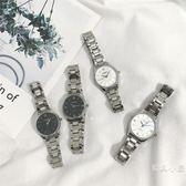 文藝 條女士鋼帶手錶女學生韓版簡約休閒大氣防水時尚款2019新款