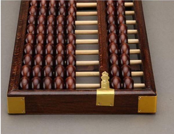 珠算盤老式算盤15檔算盤 15位木制算盤 實木算盤 7珠算盤 台北日光