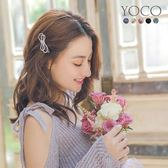 東京著衣【YOCO】經典百搭蝴蝶結水鑽髮夾(181466)