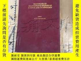 二手書博民逛書店Handbook罕見of Quantitative Studie