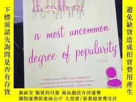 二手書博民逛書店A罕見Most Uncommon Degree of Popul