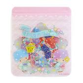 Hamee 日本製 三麗鷗 夏日和風祭典 和紙造型 貼紙包 手帳日記裝飾DIY (雙子星) 204455N