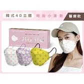 親親 JIUJIU 韓式4D立體醫用口罩(5入)小清新系列 款式可選【小三美日】