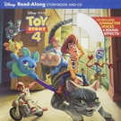 Toy Story 4 Read-Along Storybook And CD 玩具總動員4有聲讀本(一平裝繪本+一CD)