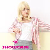 【SHOWCASE】珍珠皇冠圓領修身T恤(白)