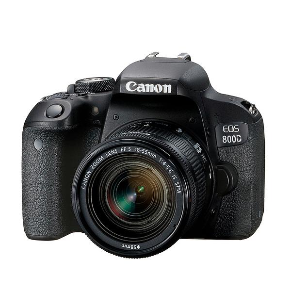 Canon EOS 800D 單鏡組 (18-55mm F4-5.6 IS STM) 入門級數位單眼相機 3期零利率【平行輸入】WW