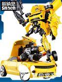 變形玩具金剛5大黃蜂加大恐龍汽車機器人模型正版兒童男孩手辦4