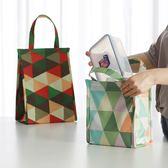 韓國飯盒袋保溫袋便當袋手提包帶飯的袋手拎袋帆布袋學生拎袋午餐