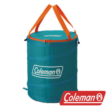 Coleman 萬用魔術桶/水藍 衣物收納桶 垃圾桶 收納桶 戶外 露營 CM-5603J