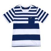 『小鱷魚童裝』休閒條紋T恤(08號~18號)531401