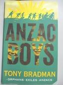 【書寶二手書T5/原文小說_NOZ】Anzac Boys_Tony Bradman