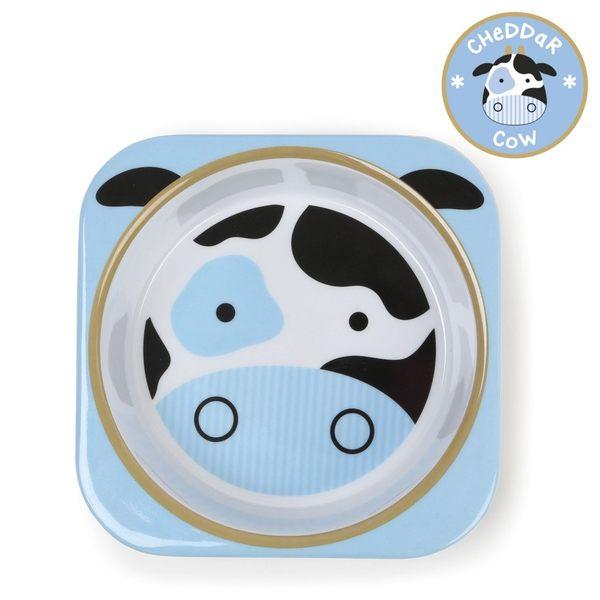 美國 skip hop 動物園系列兒童碗-乳牛