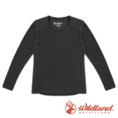 【wildland 荒野】中童 Highest彈性圓領保暖衣『黑色』H2660 戶外 休閒 運動 冬季 保暖 禦寒 內著