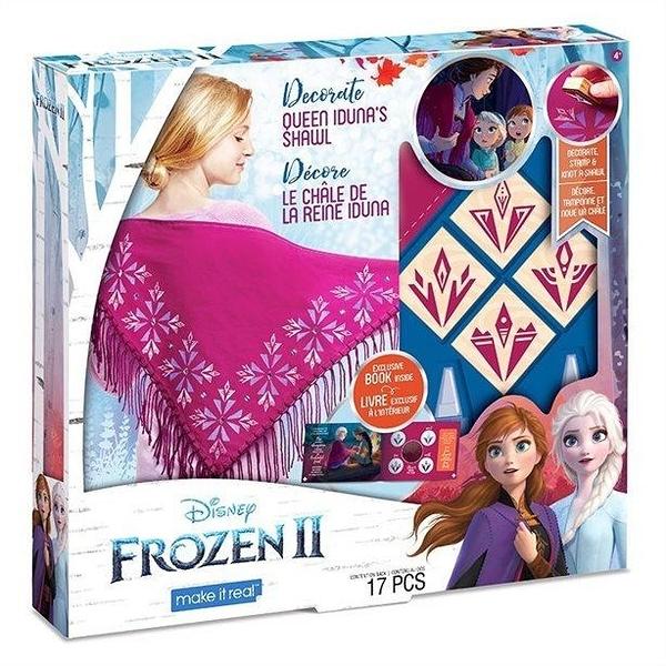 迪士尼 冰雪奇緣2 披肩裝飾組