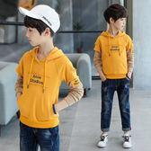 連帽T恤-5童裝男童春裝新款中大童10兒童上衣12男孩休閒連帽衛衣15歲 草莓妞妞