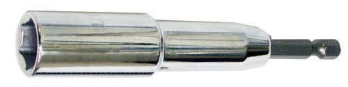 19x110mm 六角軸無磁深孔套筒 六角軸無磁深孔六角套筒 適充電起子機電鑽夾頭用