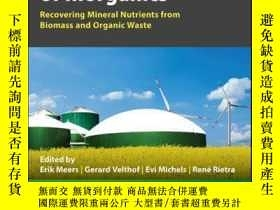 二手書博民逛書店Biorefinery罕見of Inorganics: Recovering Mineral Nutrients