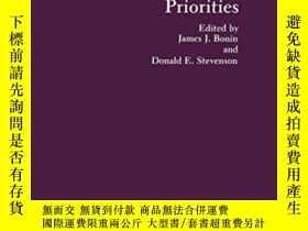 二手書博民逛書店Risk罕見Assessment In Setting National Priorities (advances