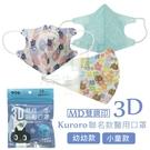 【九元生活百貨】易廷 3D醫用口罩/小童...