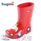 hugmii兒童雨鞋雨靴男童女童寶寶小孩卡通立體造型橡膠防滑水鞋