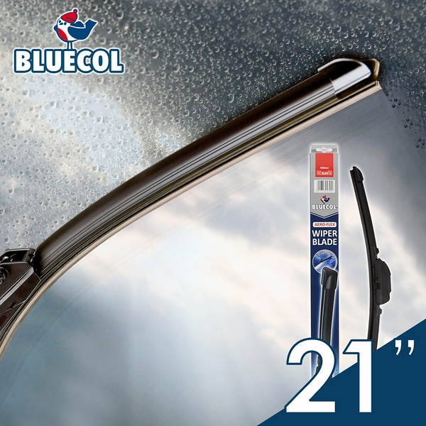 BLUECOL藍雀Aero-Flexible高彈性氣動軟骨雨刷21吋(533mm)