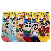 台灣製 蠟筆小新直版襪(22-26cm)1雙入 款式可選【小三美日】