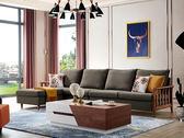 達芙妮L型布沙發-尺寸布色可訂製【歐德斯沙發】