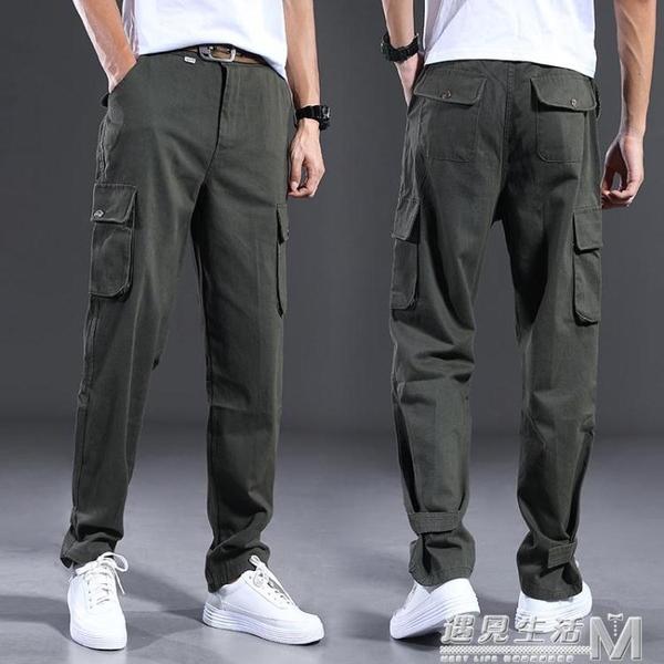 工裝褲純棉迷彩褲勞保耐磨寬鬆電焊汽修焊工人工作服褲子 遇見生活