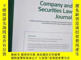 二手書博民逛書店Company罕見and Securities Law Jour