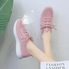小白鞋-2020新款女鞋休閒百搭小白網鞋老北京布鞋透氣網面跑步運動秋鞋