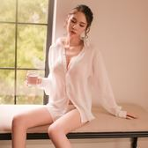 情趣睡衣 性感睡衣女夏火辣情趣內衣騷睡裙誘惑大碼透視冰絲老公裙激情套裝 芭蕾朵朵